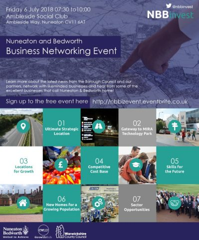 Nuneaton and Bedworth Business Event Details