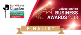 Business Awards Finalist Leicestershire - 2018