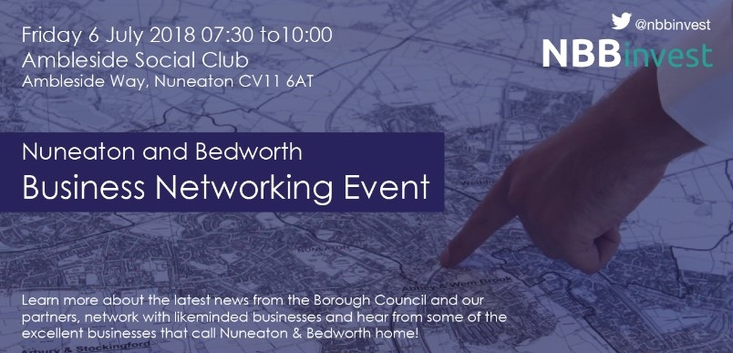 Nuneaton and Bedworth Business Event Banner