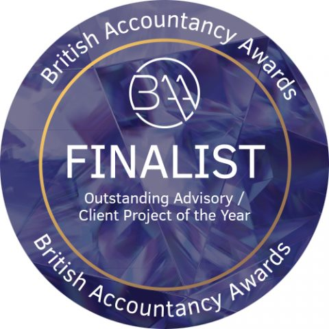 British Accountancy Awards Outstanding Advisory Client Project